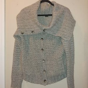 Theory Tootsie New Tweed Chunky Cashmere Blend L